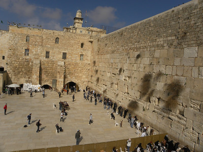 Wailing Wall - Jerusalem - Israel