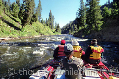 Middle Fork of the Salmon 2005, Days 1, 2 & 3