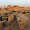 Jigsaw puzzle. Karnak Temple.