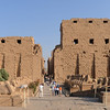 Entrance to the enormous Karnak temple