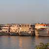 Nile Cruise ships docked
