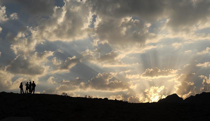 Sunset at Petra