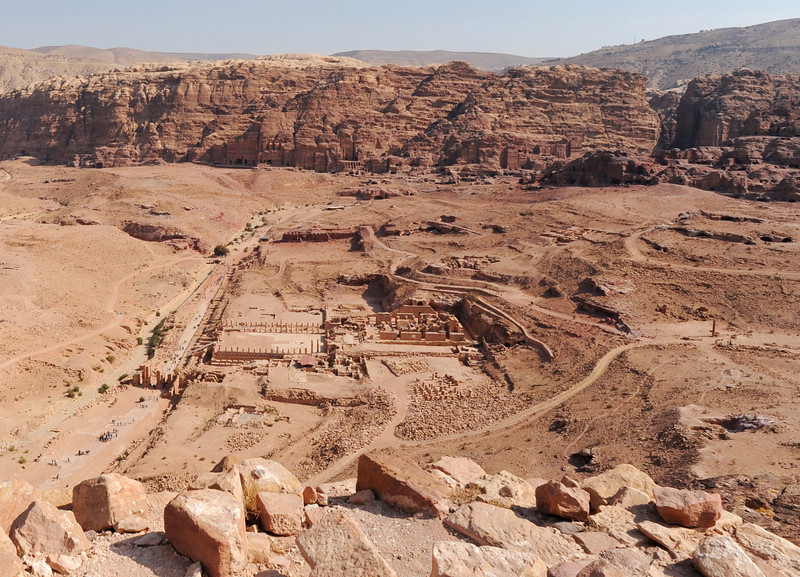 View of Petra from the Alter of Sacrifice