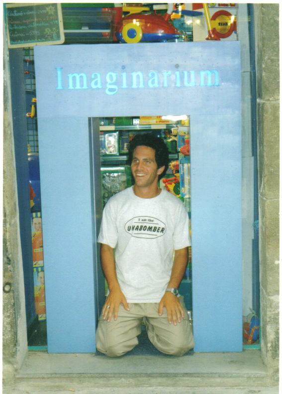 Madrid, Spain - love the t-shirt, 1999