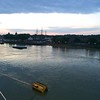 Viking Sea: Greenwich: Sunrise from veranda