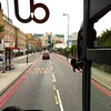 Bus Ride: London: Kennington toward MI6 headquarters