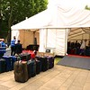 Greenwich: Baggage tent