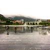 Bergen: Festplassen <br /> and Lille Lungegårdsvannet