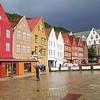 Bergen: Bryggen from west