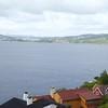 Bergen: Eikeviken: Across Byfjorden toward bridge