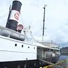 Bergen: Nrdnes: Sign for SS Stord toward stern