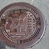 Bergen: Bryggen: Manhole cover