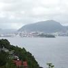 Bergen: Eikeviken: Across Byfjorden toward downtown