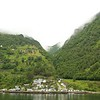 Geiranger: Switchbacks to Eagle's Bend in morning mists