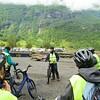 Geiranger: Bikers getting instruction