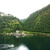 Geiranger: Toward Eagle's Bend with pilot boat