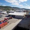 Molde: Moldegård Cruisepier: Toward bus loading area