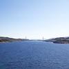 Viking Sea: Approaching bridge at Rørvik