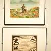 Tromsø University Museum: John Savio painting and drawing
