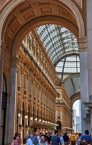 June  10-, 2017- Italy /Switzerland  Milan-Venice-Verona-Lake Como-Lugano trip Sat 6/10.   Galleria Vitoria Emanuelle   Credit: Robert Altman