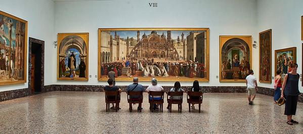 June  10-, 2017- Italy /Switzerland  Milan-Venice-Verona-Lake Como-Lugano trip Sat 6/10.    Pinacoteca di Brea museum   Credit: Robert Altman