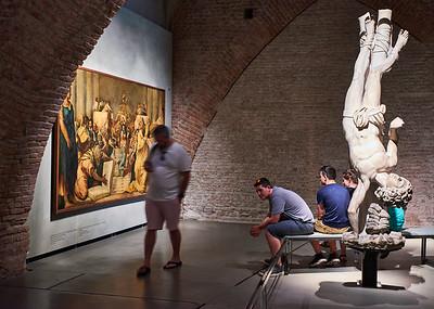 June  10-, 2017- Italy /Switzerland  Milan-Venice-Verona-Lake Como-Lugano trip Sat 6/10.   Duomo  museum.    Credit: Robert Altman