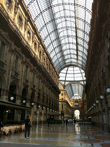 Looks almost EXACTLY like the galleria in Napoli...
