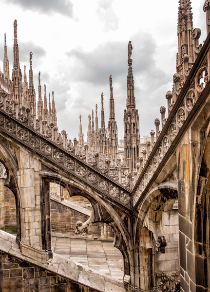 The Duomo Spires