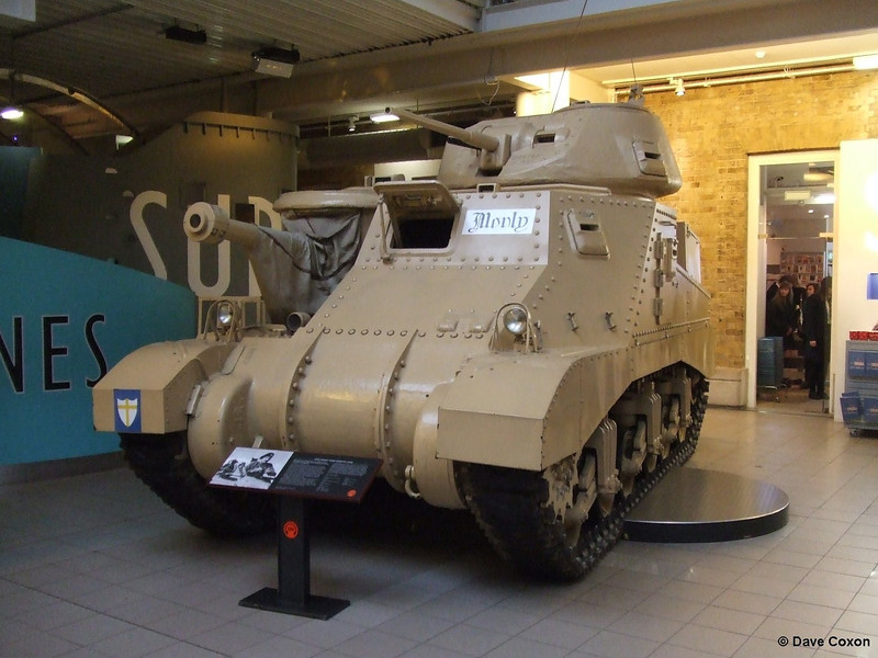 British Mathilda WW2 tank at the Imperial War Museum on 16th December 2010