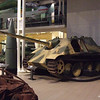 German Jagdpanther tank destroyer at the Imperial War Museum on 16th December 2010