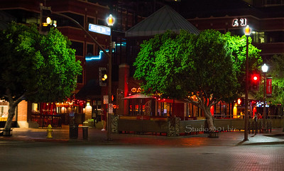 Mill Ave at night 9938