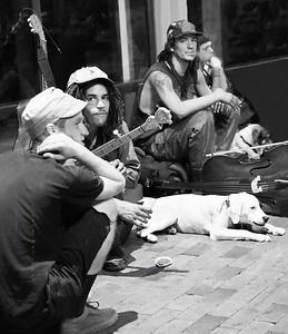 Street Musicians 8125 B&W c2