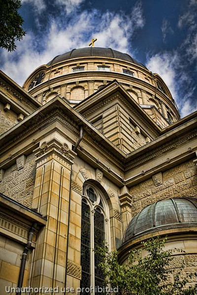 The Basilica of St. Josaphat in Milwaukee, WI.