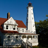 North Point Lighthouse in Milwaukee, WI.