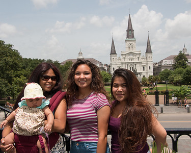 Jessica, Jasmine, Gabby and Alianna in New Orleans