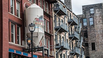 Historic Third Ward in Milwaukee