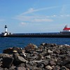 MN - Duluth Harbor Lighthouses & Weather