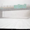 On the way to the Mall of America during the snow storm