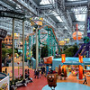 Amusement park in the mall