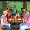 Family picnic in Walnut Grove
