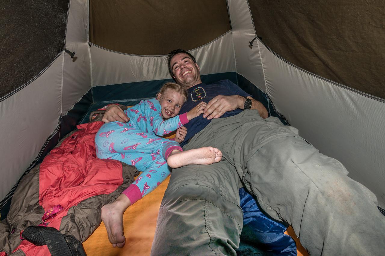 We had fun camping :-)