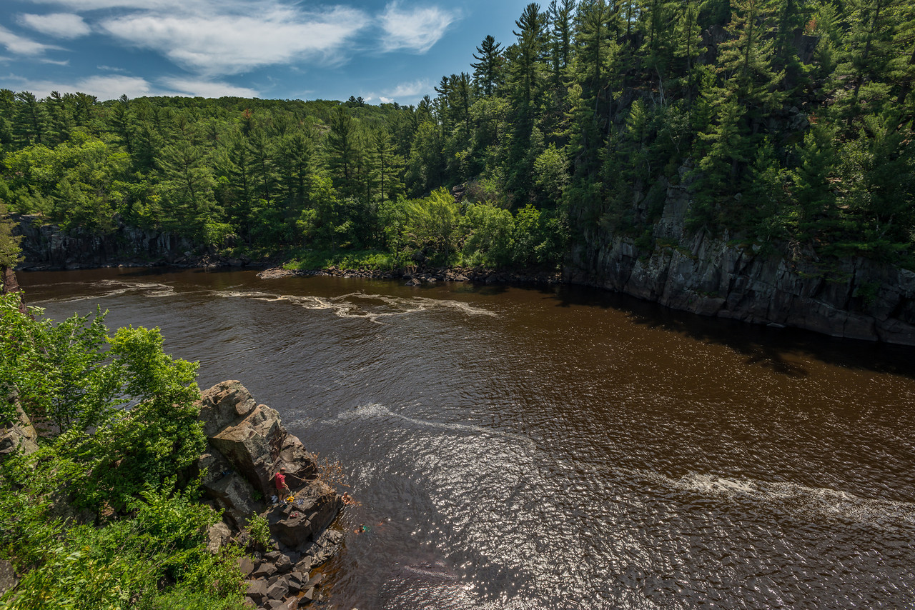 The Dalles of the St Croix River. View from the Pothole Trail (MN)