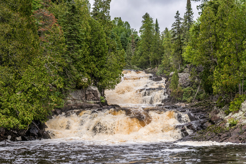 Manitou River Cascades. George H. Crosby - Manitou State Park, Minnesota