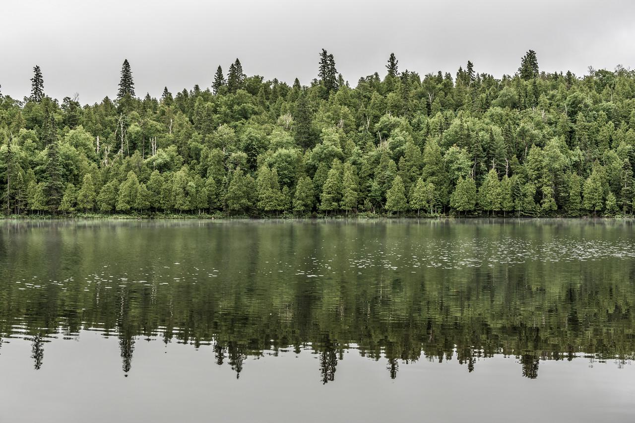 Bensen Lake. George H. Crosby - Manitou State Park, Minnesota