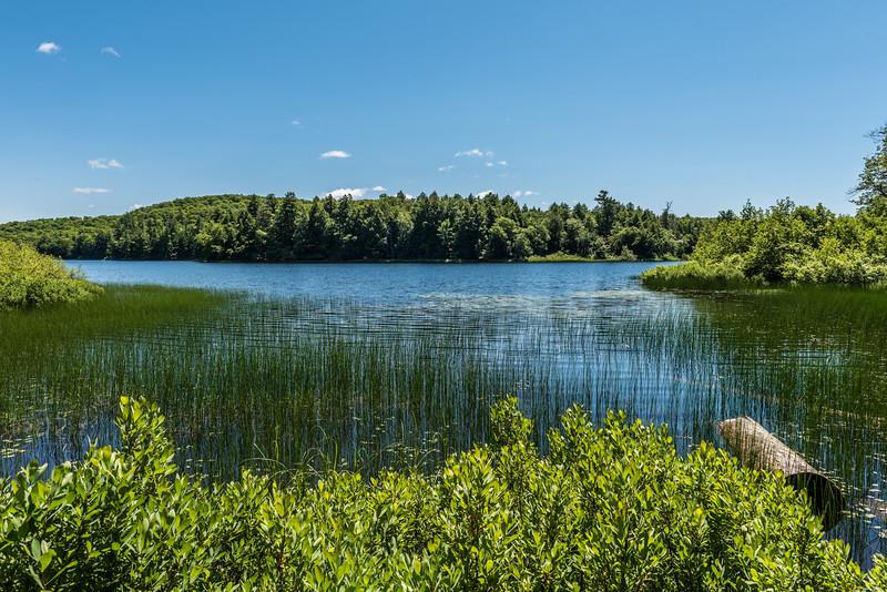 Mirror Lake. Porcupine Mountains, Michigan.