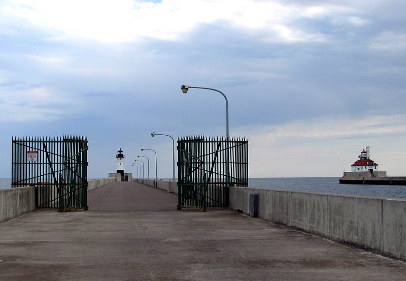 Canal pier - Duluth MN