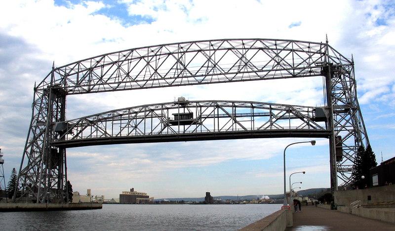 Canal street bridge - Duluth MN