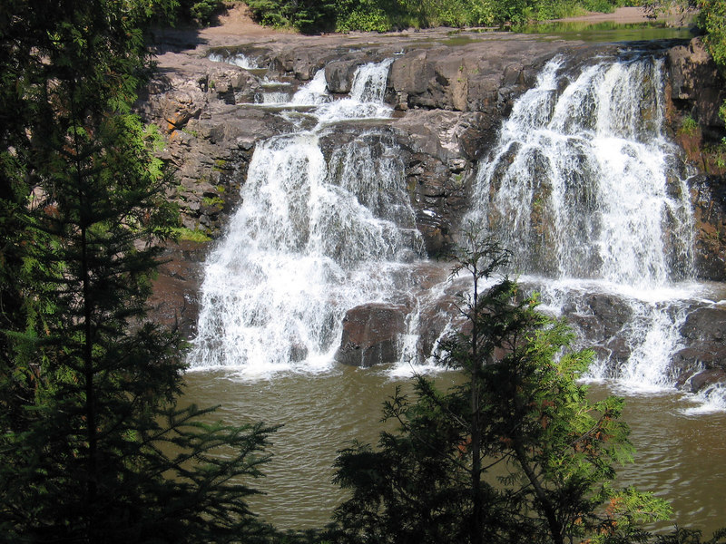 Upper Gooseberry Falls - TWO HARBORS, MN