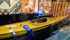 A hand-crafted kayak takes the rosette