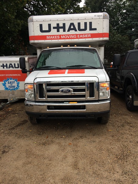 """The u-haul I used to help my sister and her husband move..<br /> <br /> <a href=""""https://goodnewseverybodycom.blogspot.com/2019/01/2018-year-in-reflection.html"""">https://goodnewseverybodycom.blogspot.com/2019/01/2018-year-in-reflection.html</a>"""